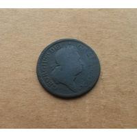 Великобритания, Георг I (1714-1727), полпенни, год не читается (1714-1717)