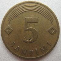 Латвия 5 сантимов 2006 г.