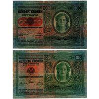 Австрия. 100 крон (образца 1912 года, выпуск 1919, P56)