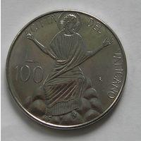 Ватикан, 100 Лир 1986 (3)