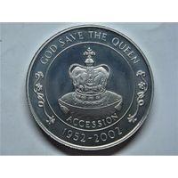 Остров Святой Елены 50 пенсов 2002