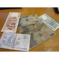 МИКС денег из обихода: Египет,Индия,Конго 2