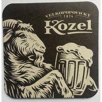 Подставка под пиво Velkopopovicky Kozel /Чехия/