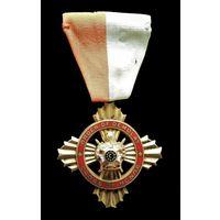 ОРДЕН ПОЧЁТНОГО КРЕСТА  ДЕМОЛЕЯ (Order of Demolay Cross of Honor) НАГРУДНЫЙ ТИП. МОЛОДЁЖНАЯ МАСОНСКАЯ ОРГАНИЗАЦИЯ