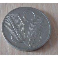 10 лир Италия 1954 г.в. KM# 93, 10 LIRE, из коллекции