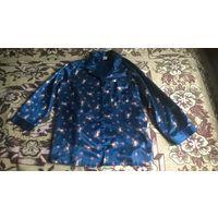 Пижама новая  женская синяя .Размер 42- 44.