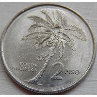 Филиппины 2 писо 1991 год