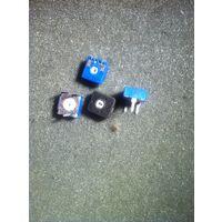 Резистор подстроечный, 10кОм