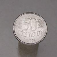 Бразилия 50 центавос 1994