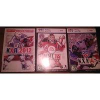 Pc игры КХЛ12, КХЛ14, НХЛ14