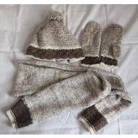 К 8 марта качественная одежда всего за 8 р.Комплект Шапка Шарф Варежки Норвегия