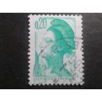 Франция 1982 стандарт 0,20