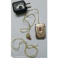 Аппарат слуховой с зарядным устройством из СССР. Есть аккумуляторы к нему 3 шт (за отдельную плату 3.50 руб/шт)