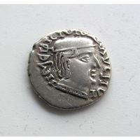 Драхма Западные сатрапы.Древняя Индия.качество проверегное временем из стар коллекции.