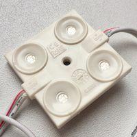 СИНИЕ ((цена за 3 шт)) 0,96 Вт светодиодные модули. 4 светодиода 5050. 12 Вольт
