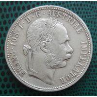 1 флорин, Австро-Венгрия, 1888