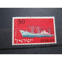 Транспорт, корабли, флот Израиль марка