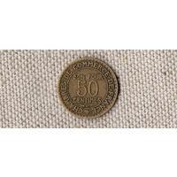 Франция 50 сантимов 1923//(Oct)