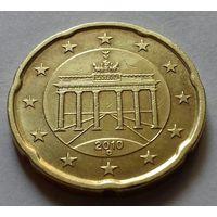 20 евроцентов, Германия 2010 D