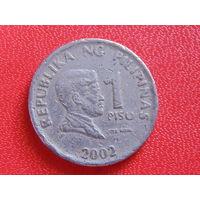 Филиппины 1 писо 2002 г.