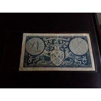 Шотландия 1 фунт 1959 год