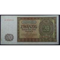 20 марок 1948г. 6цифр -aUNC-