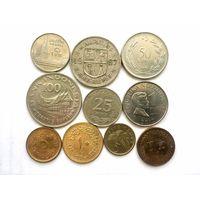Сборный лот #5.1 Экзотика - 10 монет, все разные, без СССР и СНГ