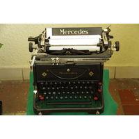Печатная машинка MERCEDES  в рабочем состоянии + запасная лента