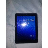 Планшет Texet TM-8041HD 8gb, экран целый, менялась батарея. В целом хороший планшет, но чтобы установить какое либо емкое приложение или игру, то надо танцевать с бубном, при установке пишет, что недо