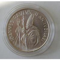 Ватикан - 1000 лир 1983-1984 г Иоанн Павел II (серебро)Святой год. Распродажа!