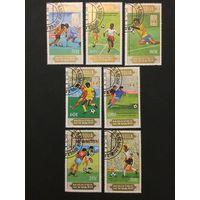 Чемпионат мира по футболу среди юниоров. Монголия,1985, серия 7 марок