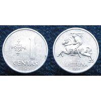 W: Литва 1 цент 1991 (1097)