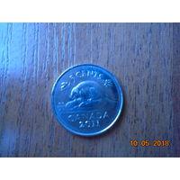 Канада 5 центов 2011