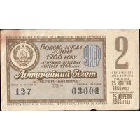 1966 год Украина 2-й тираж