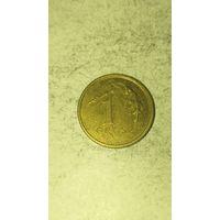 Польша 1 грош 2002