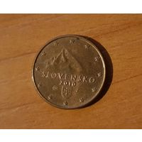 1 евроцент 2010 Словакия