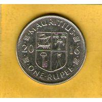 Маврикий 1 рупия 2016