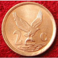 6835:  2 цента 1998 ЮАР