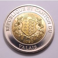 "Республика Valais, 1 фаринет 2006 год, ""150-летие независимости VALAIS"""