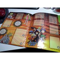 Chipicao shaman king аниме альбом для наклеек