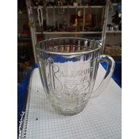 Пивной бокал Владимир, 0,5 л.