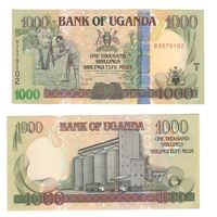 Банкнота Уганда 1000 шиллингов 2009 UNC ПРЕСС