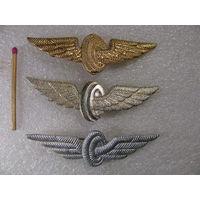 Фрачники. Нагрудные знак МПС (в золоте, серебре и бронзе).