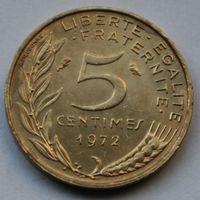 Франция, 5 сантимов 1972 г