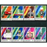 Руанда - 1984г. - Всемирный год коммуникаций - полная серия, MNH [Mi 1259-1266] - 8 марок