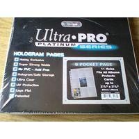 Листы для хранения карточек Ultra-Pro Platinum (3х3) на 11 отверстий