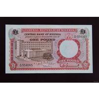 Нигерия 1 фунт 1967 UNC