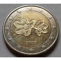 2 евро, Финляндия 2007 г.