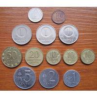 Литва. Набор монет.