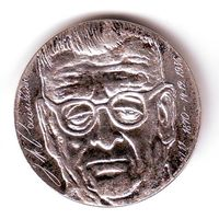 Финляндия. 10 марок 1970 г. серебро.100 лет со дня рождения Юхо Кусти Паасикиви